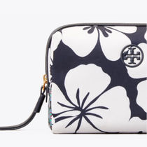 Tory Burch KIRA Flower Patterns Pouches & Cosmetic Bags