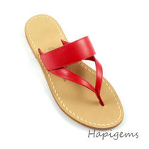 Ron Herman Casual Style Plain Leather Shower Shoes Elegant Style