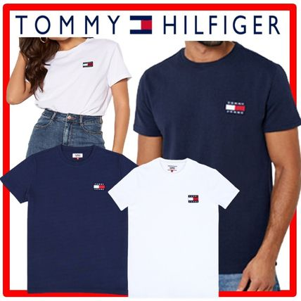 Tommy Hilfiger More T-Shirts Unisex Cotton Short Sleeves T-Shirts