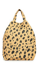 BAGGU Stripes Leopard Patterns Nylon Totes