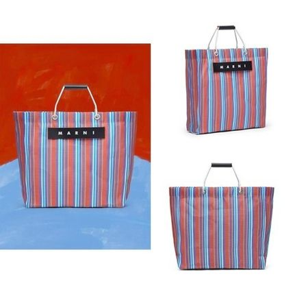 Casual Style A4 Office Style Logo Totes