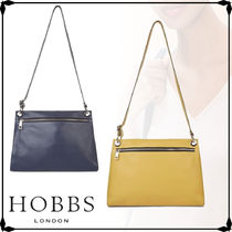 Hobbs London Casual Style Street Style Plain Leather Formal Style