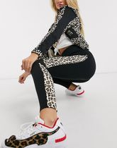 PUMA Printed Pants Leopard Patterns Casual Style Street Style