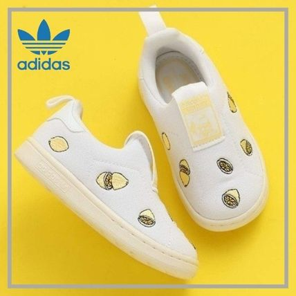 adidas STAN SMITH Street Style Baby Girl Shoes