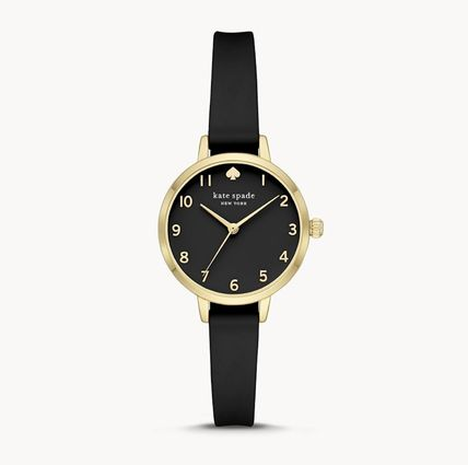 kate spade new york Casual Style Silicon Round Party Style Quartz Watches