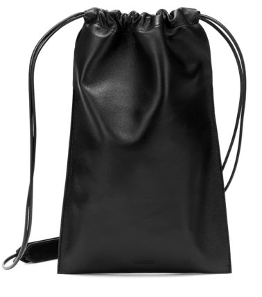 Casual Style Lambskin Plain Leather Party Style Purses