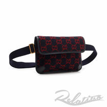 GUCCI Monogram Street Style Crossbody Bag Belt Bags