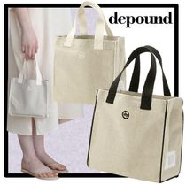 depound Casual Style Street Style Totes