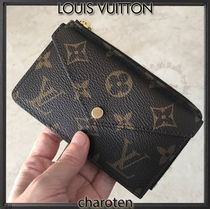 Louis Vuitton MONOGRAM Monogram Unisex Calfskin Canvas Blended Fabrics Bi-color