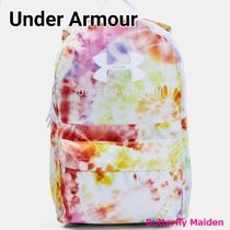 UNDER ARMOUR Casual Style Street Style Tie-dye A4 Logo Backpacks