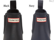 HUNTER Street Style Plain Chelsea Boots Logo Gore-Tex Chelsea Boots