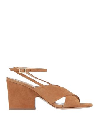 Open Toe Casual Style Suede Street Style Plain Leather
