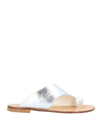 Open Toe Round Toe Casual Style Street Style Plain Leather