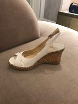 Jimmy Choo Open Toe Casual Style Plain Party Style Office Style
