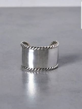 Bangles Casual Style Silver Bracelets