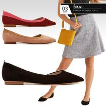 Boden Casual Style Suede Bi-color Plain Office Style Elegant Style