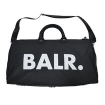 BALR Unisex Nylon Street Style A4 2WAY Logo Boston Bags