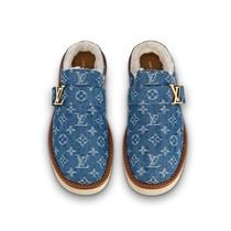 Louis Vuitton MONOGRAM Monogram Leather Sandals