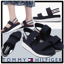 Tommy Hilfiger Casual Style Street Style Sport Sandals Shower Shoes