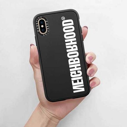 Unisex Street Style Collaboration Silicon iPhone 11
