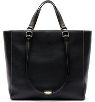FRANCIS VALENTINE Casual Style Leather Office Style Elegant Style Handbags