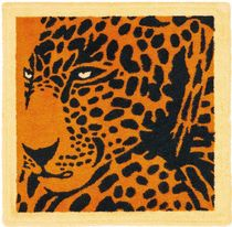 HERMES Eperons D'Or Square Beach Towel