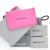 BALENCIAGA EVERYDAY TOTE Unisex Calfskin Blended Fabrics Bi-color Plain Leather