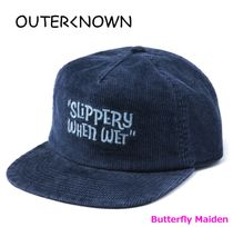 Outer known Unisex Street Style Caps