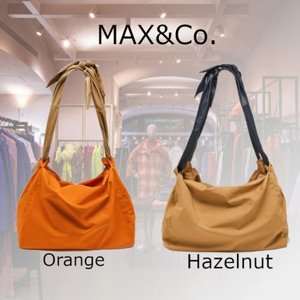 Max&Co. Casual Style A4 2WAY Plain Office Style Elegant Style Totes