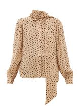 Ganni Dots Casual Style Office Style Shirts & Blouses
