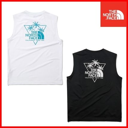 THE NORTH FACE WHITE LABEL Logo Outdoor Street Style Tanks