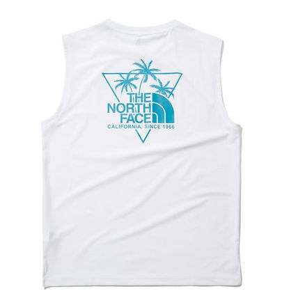 THE NORTH FACE Tanks Street Style Logo Outdoor Tanks 3