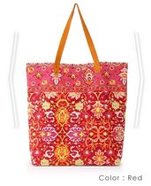 room IVY Flower Patterns Tropical Patterns Bag in Bag A4 Leather