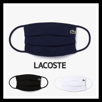 LACOSTE Unisex Plain Cotton Logo Accessories