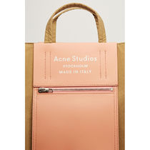 Ance Studios Casual Style Office Style Crossbody Logo Totes
