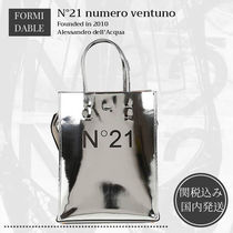 N21 numero ventuno Casual Style 2WAY Bi-color Plain Leather Elegant Style