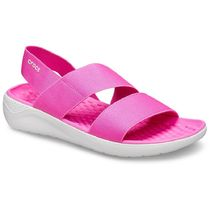 CROCS Open Toe Plain Logo Sandals Sandal