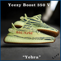 Yeezy Camouflage Street Style Collaboration Plain Sneakers
