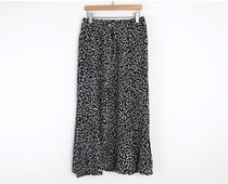 INDIBRAND Maxi Pencil Skirts Flared Skirts Leopard Patterns Casual Style 9