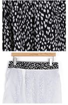 INDIBRAND Maxi Pencil Skirts Flared Skirts Leopard Patterns Casual Style 12