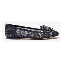 Dolce & Gabbana Platform Round Toe Casual Style Party Style Office Style
