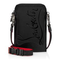 Christian Louboutin Unisex Calfskin 2WAY Plain Leather Logo Bags
