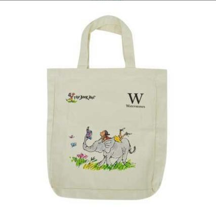 A4 Plain Logo Shoppers