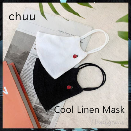 BEIGE CHUU More Accessories Casual Style Unisex Street Style Cotton Party Style