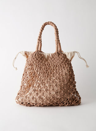Street Style Straw Bags