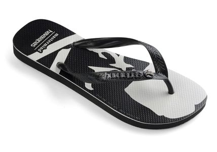 Unisex Collaboration Logo Sandals