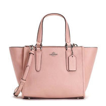 Coach CROSBY 2WAY Plain Leather Totes