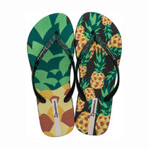 IPANEMA Stripes Tropical Patterns Casual Style Flip Flops