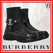Burberry Leather Boots Boots