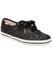Keds Plain Toe Rubber Sole Lace-up Casual Style Collaboration